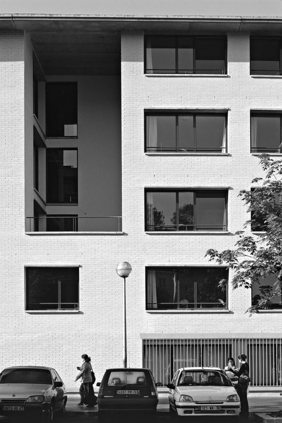 internat lycée jeanne d'arc rouen détail façade