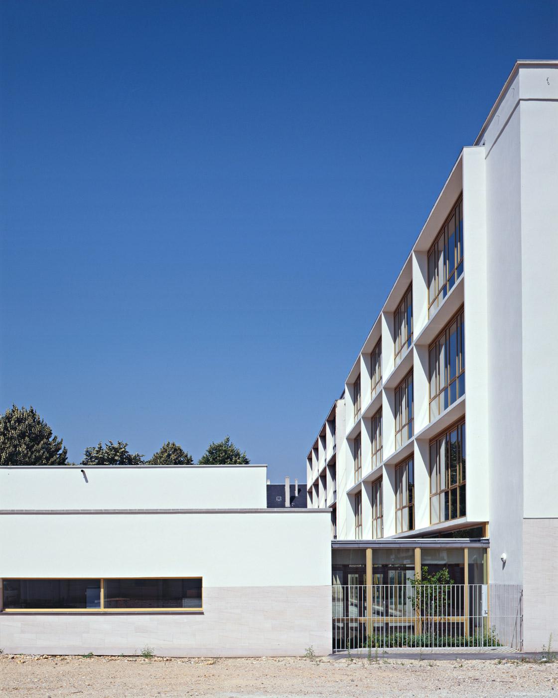 Ecole Catherine Graindor Rouen - extérieur