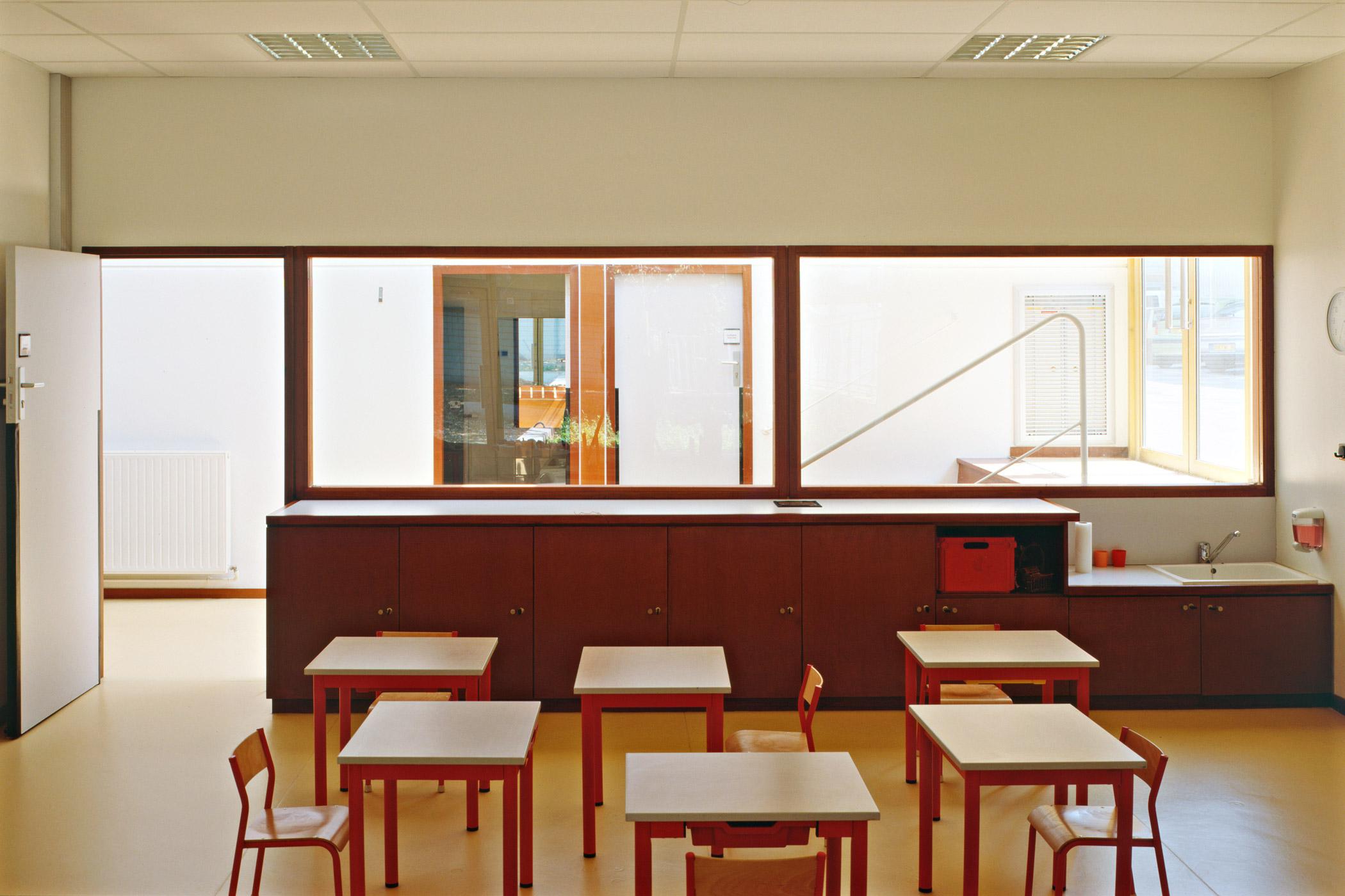 Ecole Catherine Graindor - salle de classe