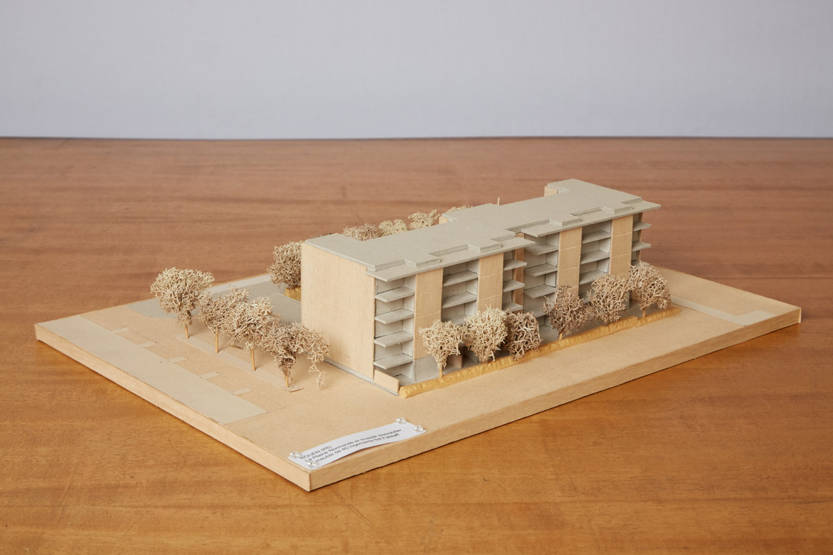 Falstaff Logements Rouen maquette