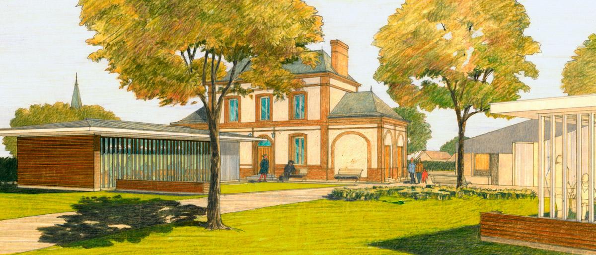 extension de la mairie de Mont Cauvaire