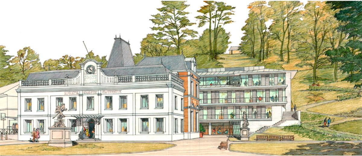 Extension de la mairie de Bolbec