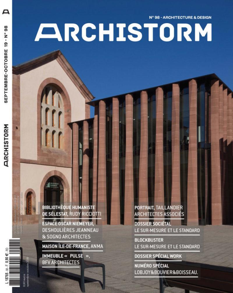 couverture revue archistorm N°98
