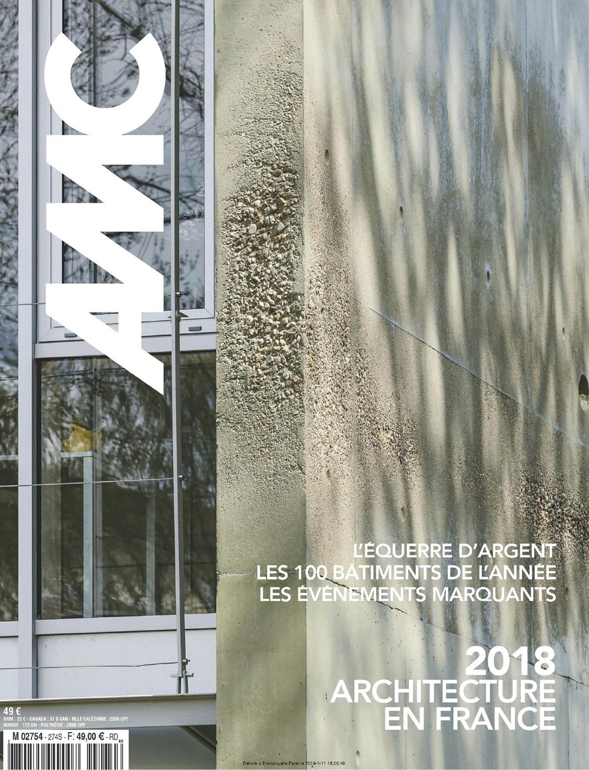 couverture revue AMC 2018